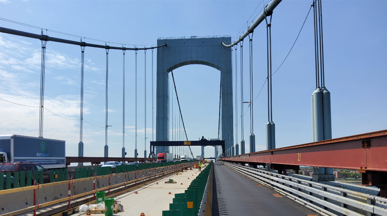 TN-49, Replacement of the Roadway Deck in Suspended Spans at Throgs Neck Bridge